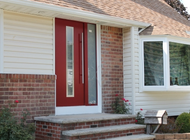Haustüren mit glas