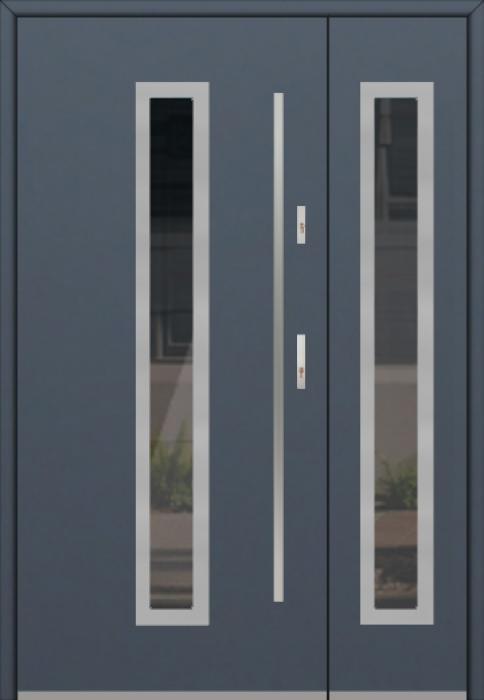 Fargo 12 DB - Haustüren mit Glas mit Seitenteil