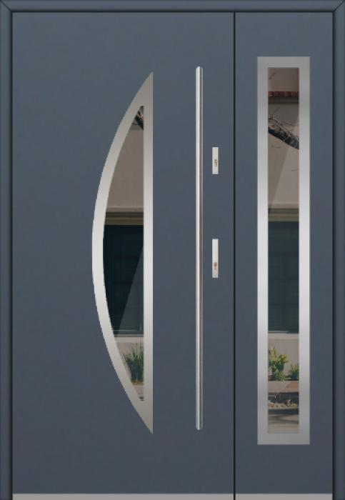 Fargo 22DB - Haustüren mit Glas mit Seitenteil