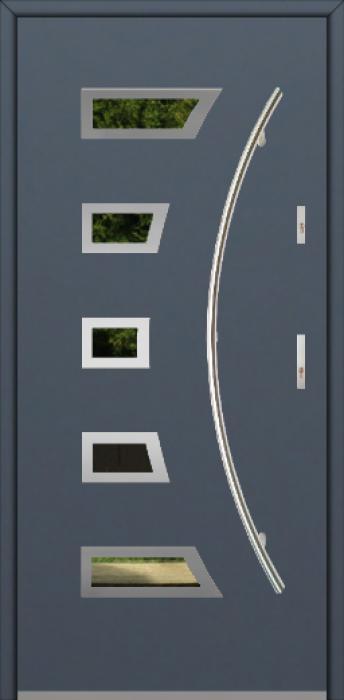 Fargo 23A - Edelstahl Haustüren