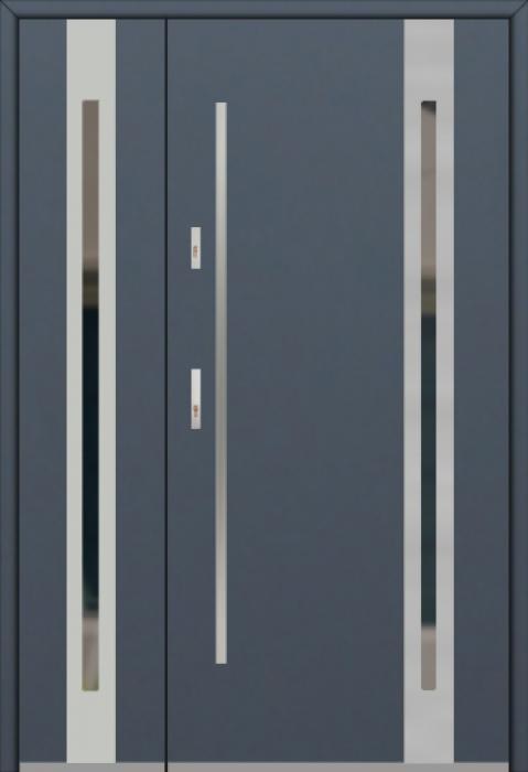 Fargo 25B DB - Eingangstüren aus Metall mit Seitenteil