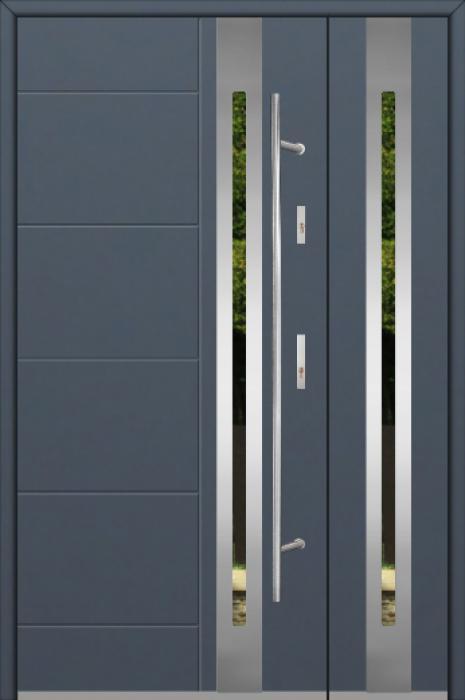 Fargo 25C DB - Eingangstüren aus Metall mit Seitenteil