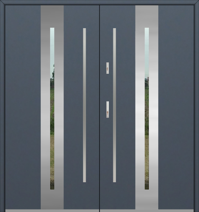 Fargo 26A double - Doppeleingangstüren / Fenstertüren