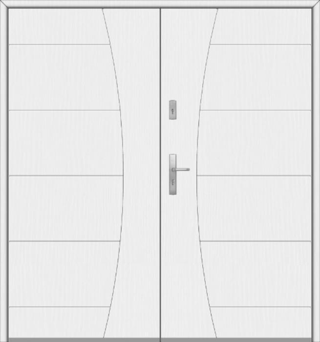 Fargo 26 G double - Doppel moderne Haustüren