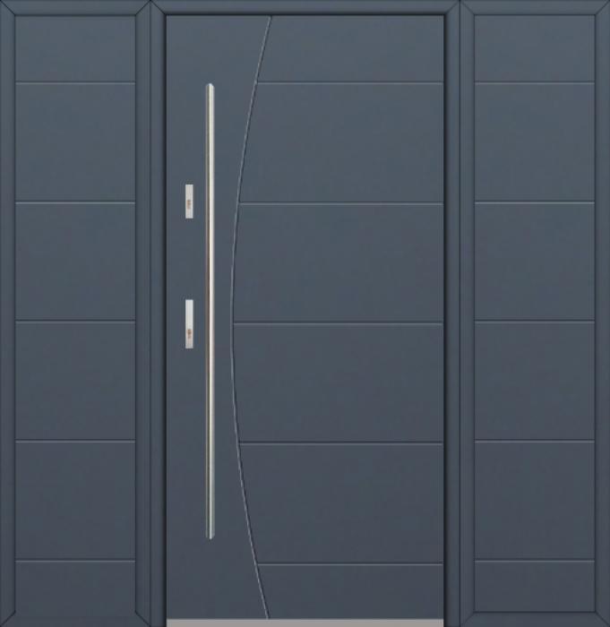 Fargo 26G T - moderne Haustüren mit zwei Seitenteilen