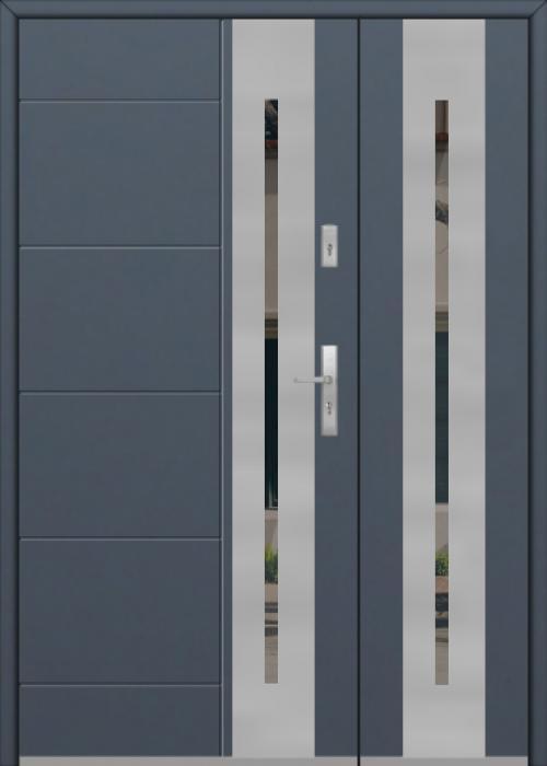 Fargo 26H DB - moderne Haustüren mit Seitenteil