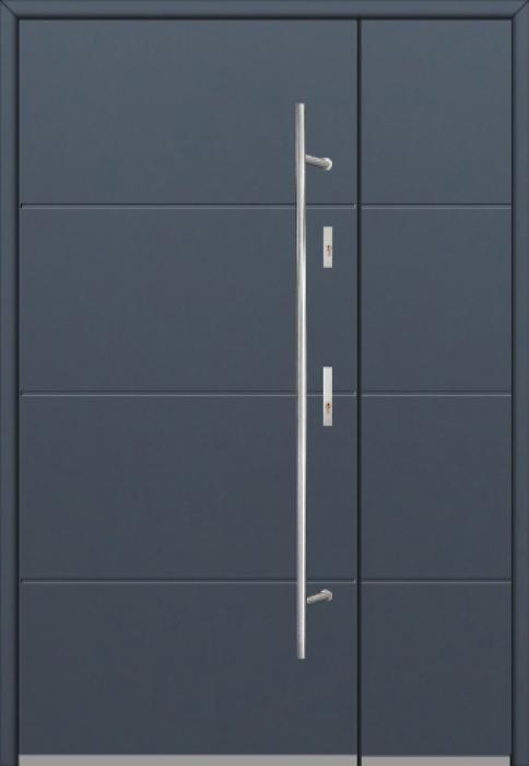 Fargo 26I DB - Eingangstüren aus Metall mit Seitenteil