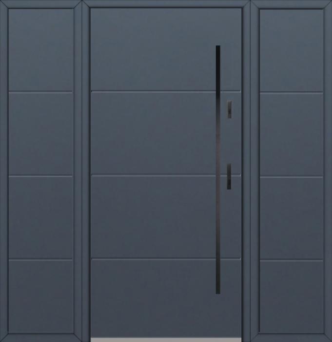 Fargo 26I T - Haustüren Simply mit zwei Seitenteilen