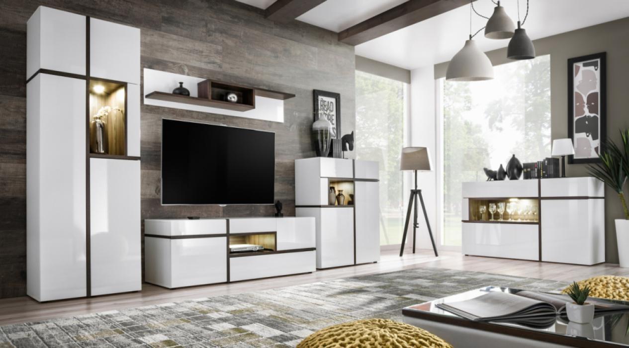 Chandler - Wohnwand modern