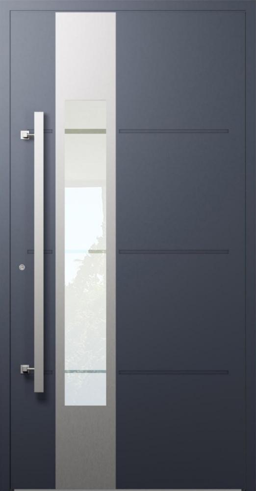 LIM W321- moderne Aluminium-Haustür