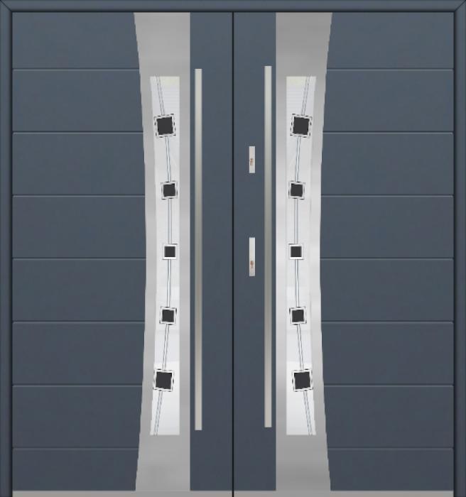 Fargo 37 double - Doppeleingangstür / Fenstertüren