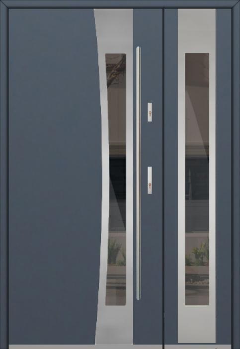 Fargo 37A DB - Eingangstüren aus Metall mit Seitenteil