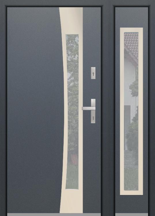 kundenspezifische Konfiguration - Fargo Tür ohne offene rechte Seitenwand (Ansicht von außen)