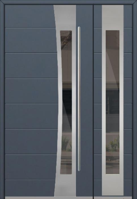 Fargo 37 DB - Eingangstüren aus Metall mit Seitenteil