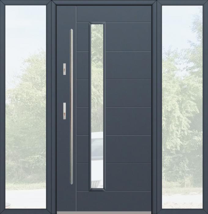 kundenspezifische Konfiguration - Fargo Tür mit linkem und rechtem Seitenteil