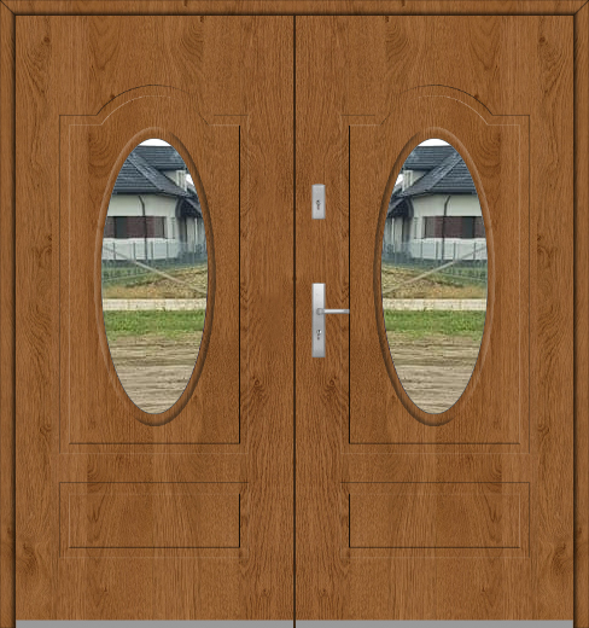 Fargo 8 double - doppelte verglaste Haustür