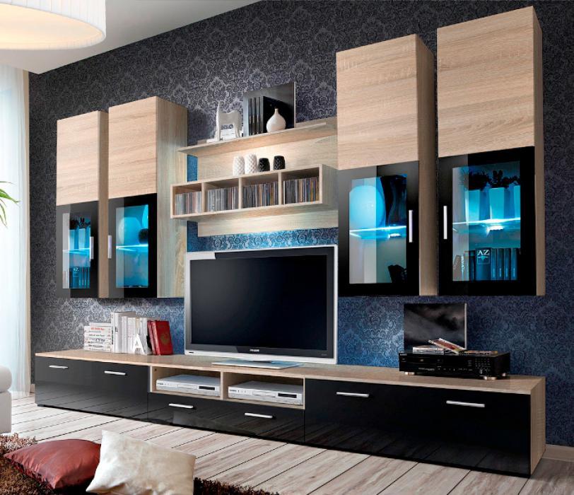 Presto 3 - Wohnzimmerschrank