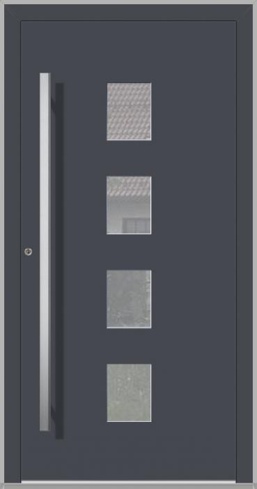 LIM Quatro - Aluminium-Haustüren für Häuser