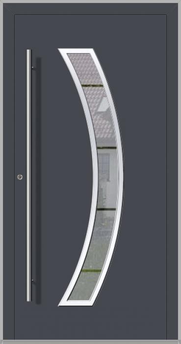 LIM Bumerang - Aluminium-Glas-Haustür