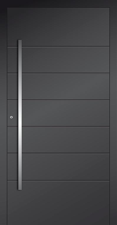 LIM AP05 - Aluminium-Glas-Haustür
