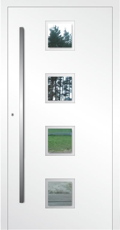 LIM AP08 - Aluminium-Glas-Haustür