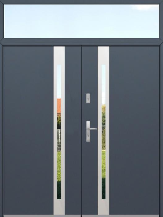kundenspezifische Konfiguration - Fargo Doppeltür mit Oberlicht