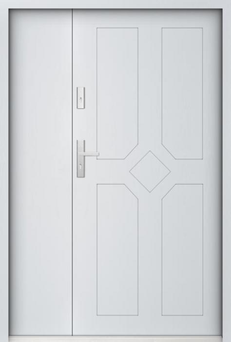 Sta Drake Duo - Eingangstüren aus Metall mit Seitenteil