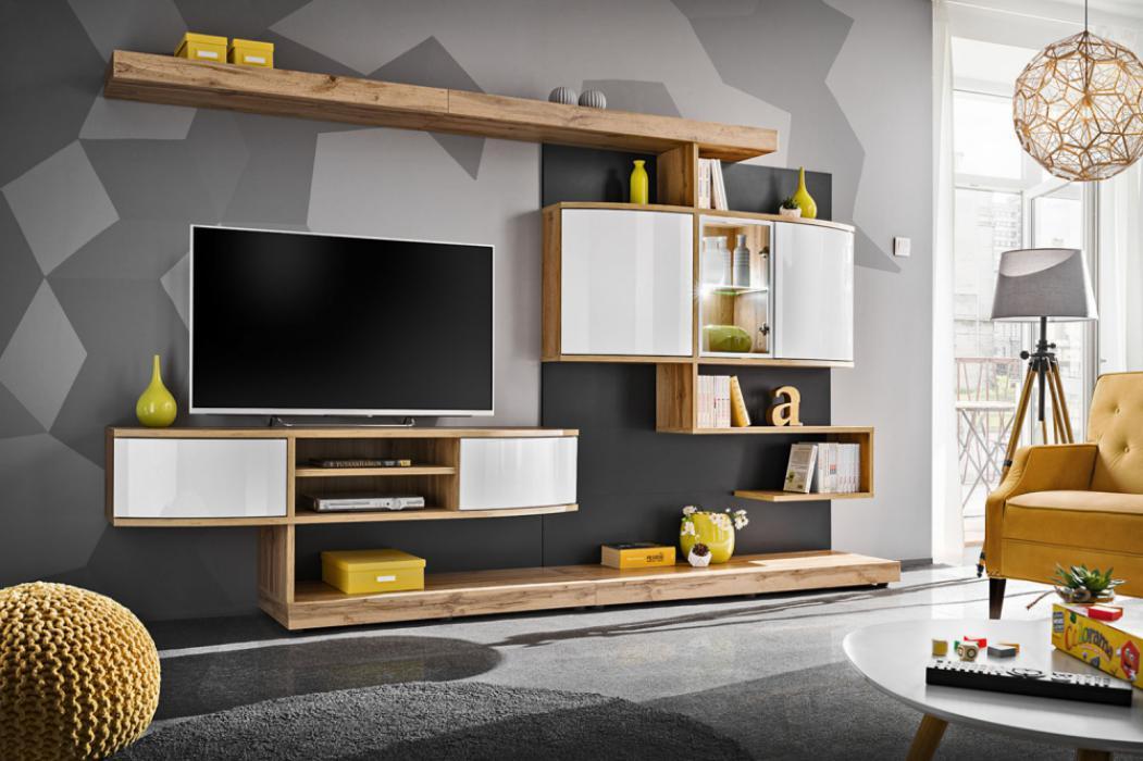 Aspaler - Wohnwand modern