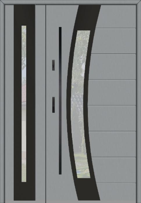 Fargo 38 DB - Eingangstür mit fenster