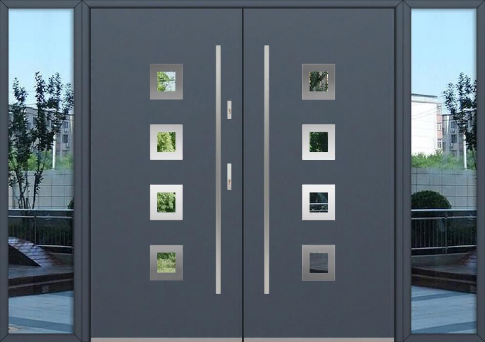 kundenspezifische Konfiguration - Fargo Doppeltür mit linkem und rechtem Seitenteil