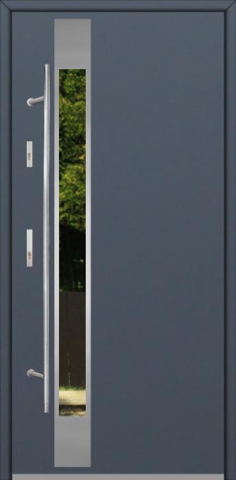 Fargo Fi07B - future inox - Silber Haustüren kaufen