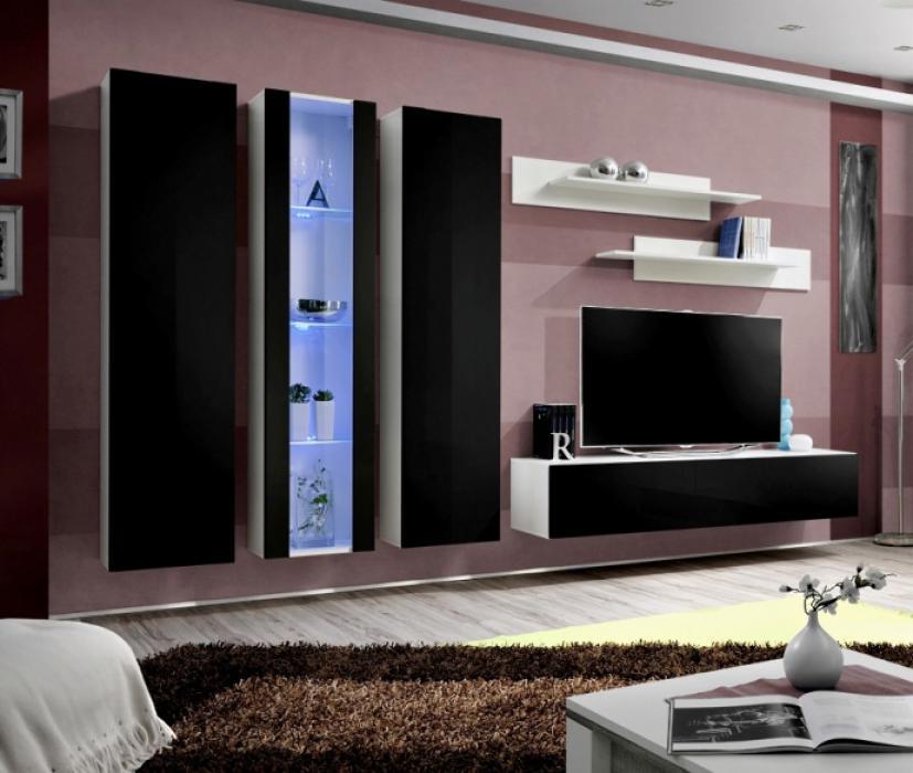 Idea 2 - moderne Wohnwand