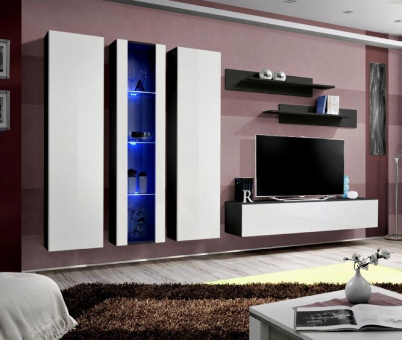 Idea 4 - moderne Wohnwand