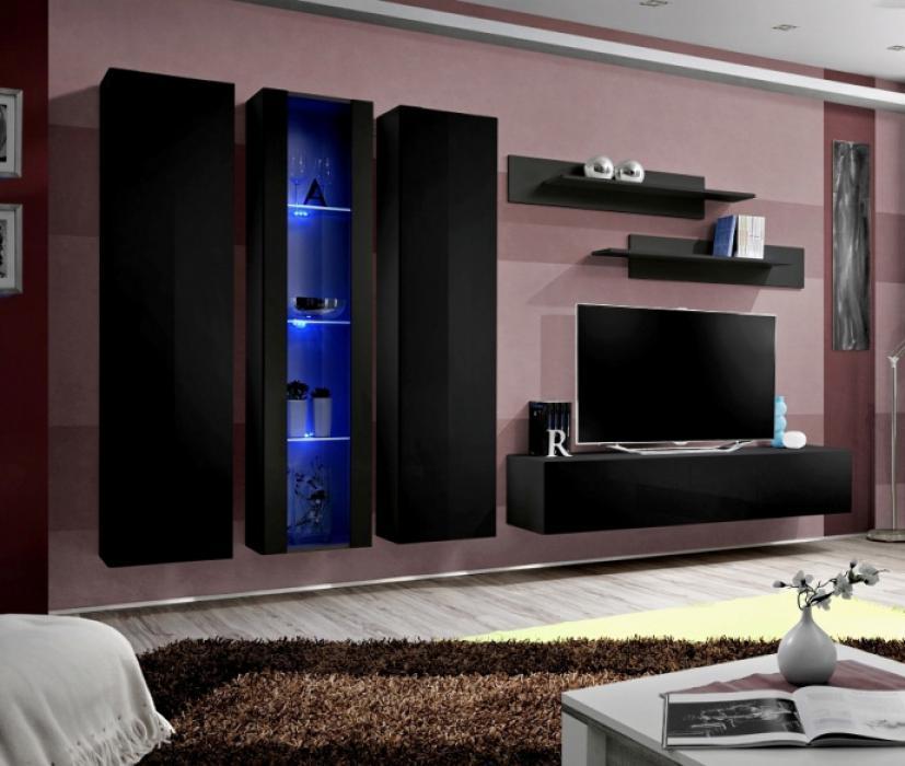 Idea 5 - moderne Wohnwand