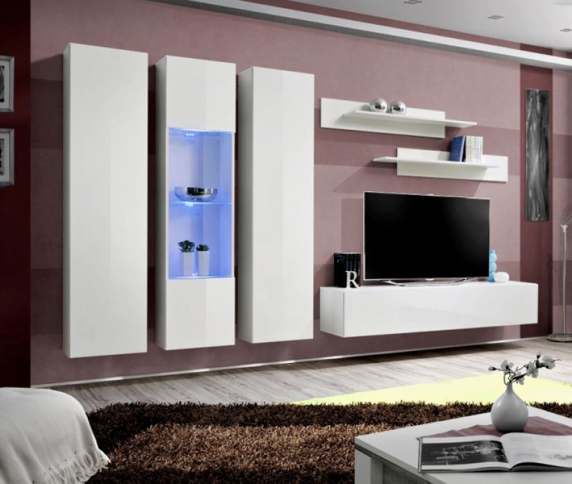 Idea c2 - Wohnwand weiß