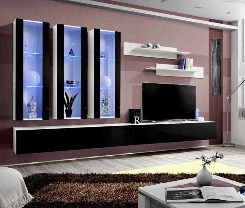 Idea E2 - Wohnwand modern
