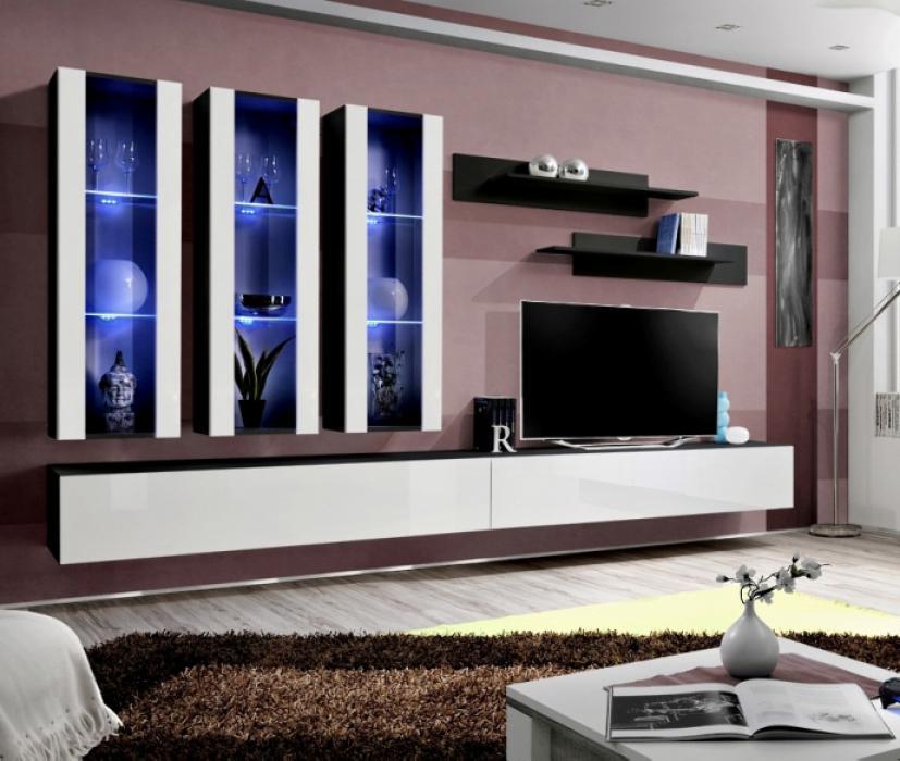 Idea E4 - Wohnwand modern