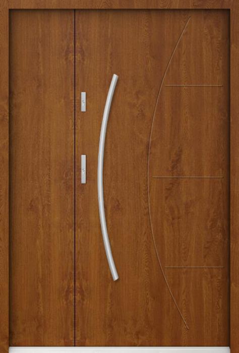 Sta Linx Uno - Haustüren aus Metall mit Seitenteil