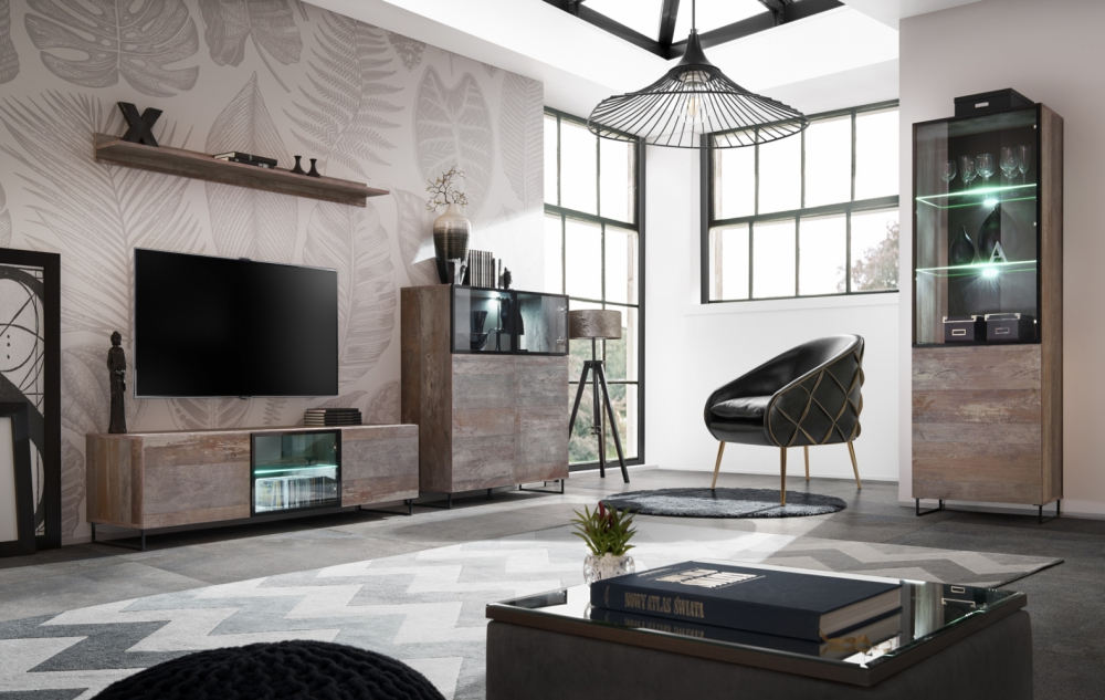 Pomona - tv Wohnwand