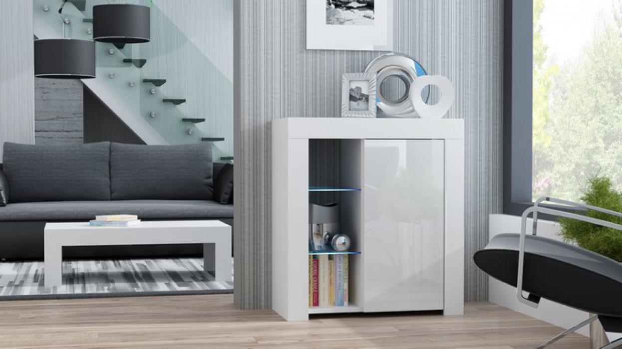 Milano Sideboard 1D - Weiß