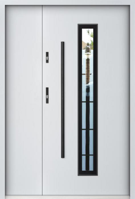 Sta Kepler 3D Uno - Haustüren solid mit Seitenteil