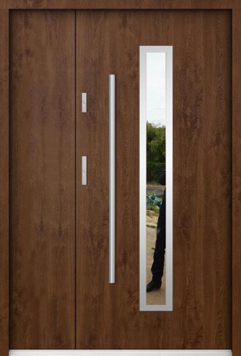 Sta Magellan Uno - Haustüre edelstahl mit Seitenteil