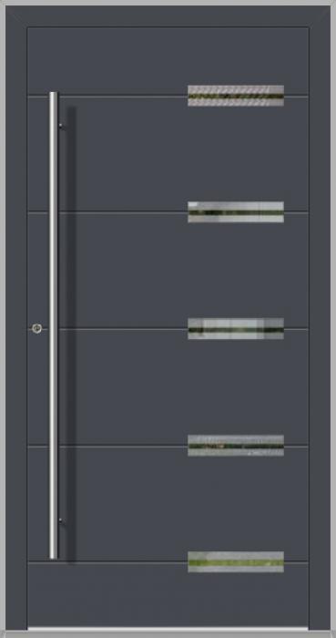LIM Abakus - Aluminium-Haustüren für Häuser