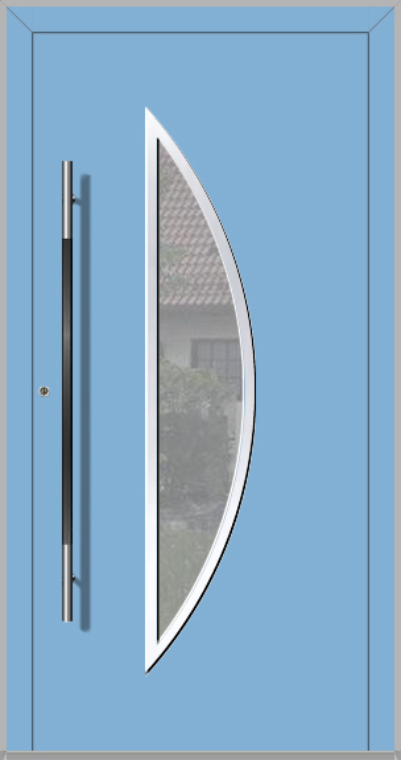 LIM Bow - Aluminium-Glas-Haustür