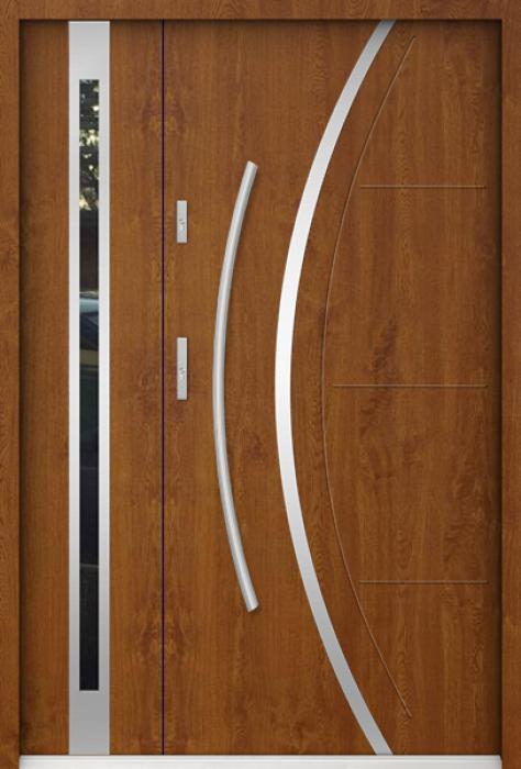 Sta Phoenix Duo - Haustüren solid mit Seitenteil