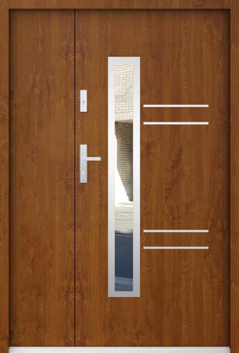 Sta Avila Uno - Edelstahl Haustür mit Seitenteil