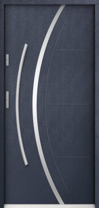 Sta Phoenix - Edelstahl Eingangstür