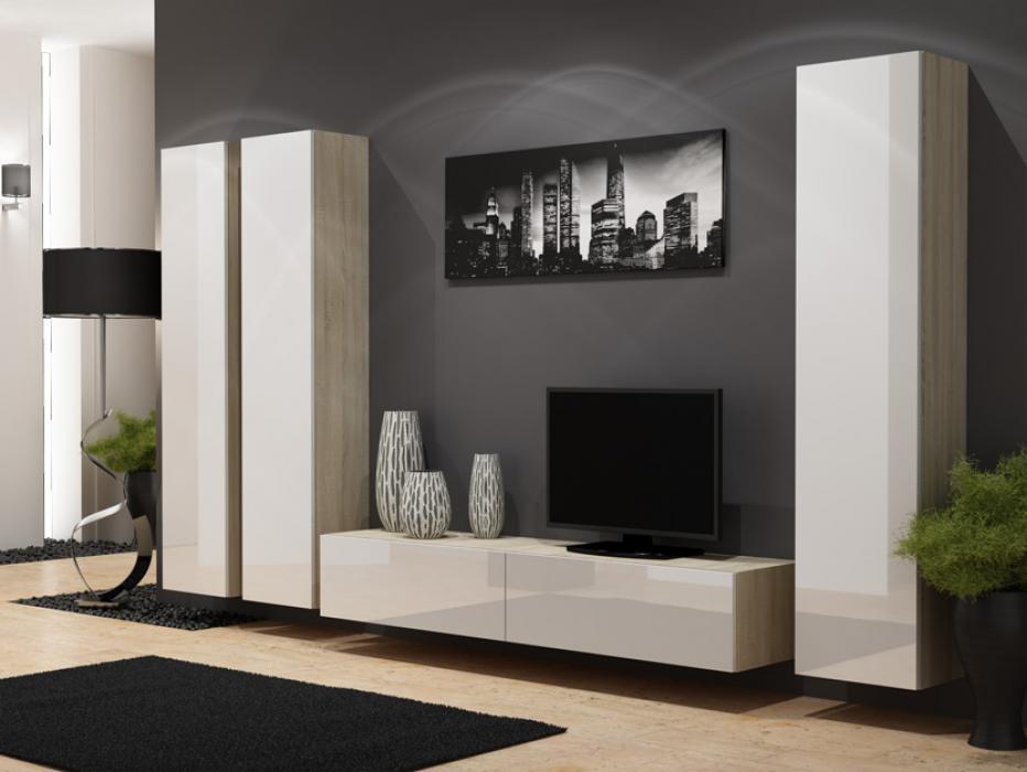Seattle D4 - moderne wohnwand