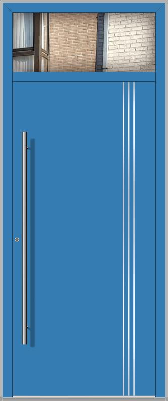 LIM-Tür mit oberem Seitenlicht
